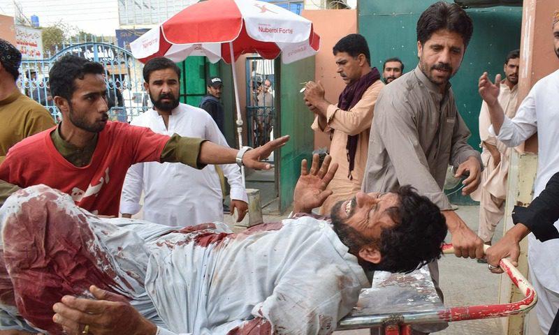 مستونگ حملہ، شہادتوں کی تعداد 130 ہو گئی، 2014 کے بعد بدترین حملہ
