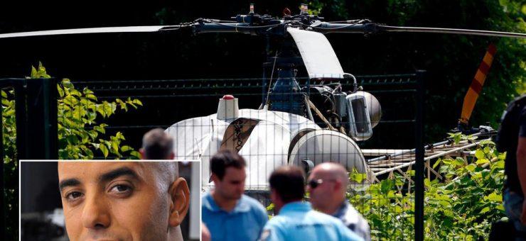فرانس: بدنام زمانہ مجرم ہیلی کاپٹر کے ذریعے جیل سے فرار