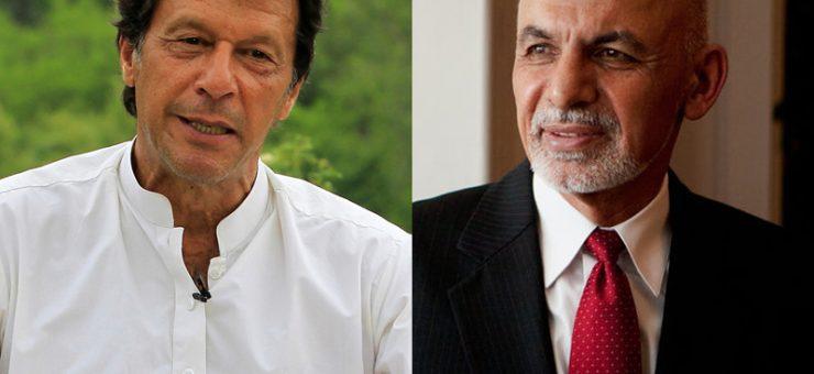 افغان صدر اشرف غنی کا عمران خان کو فون، دورہ کابل کی دعوت
