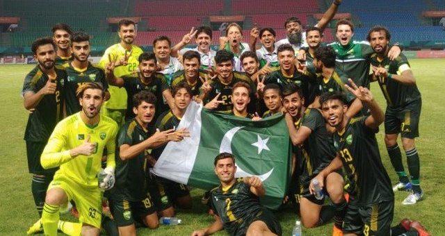 ایشین گیمز: 44 سال بعد پاکستانی فٹبال ٹیم کی فتح