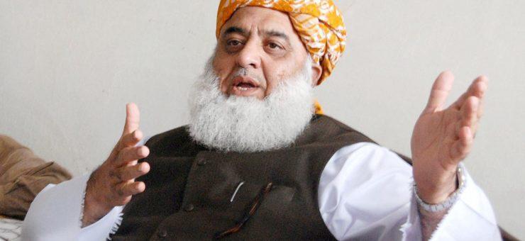 صدر کا چناوٴ، اپوزیشن تقسیم، ن لیگ مولانا فضل الرحمان کو میدان میں لے آئی