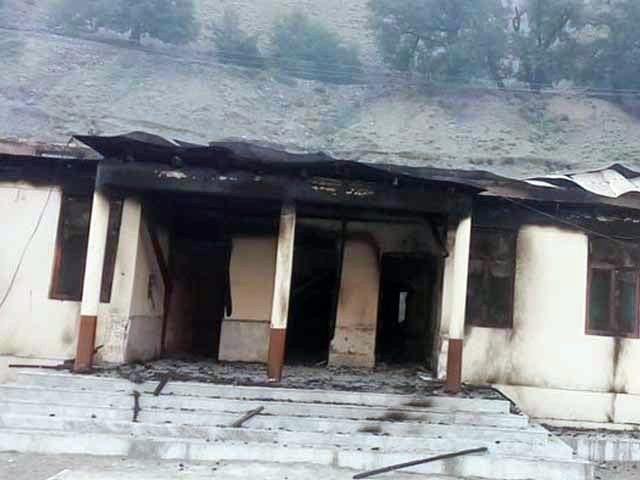 شرپسندوں نے گلگت بلتستان میں لڑکیوں کے سکول تباہ کر دیئے