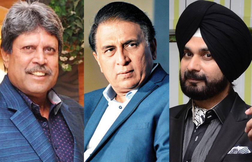 گواسکر، کپل دیو اور سدھو عمران خان کی تقریب حلف برداری میں مدعو