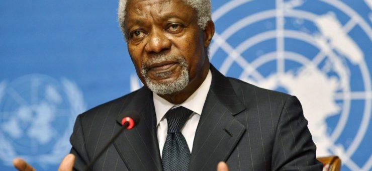سابق سیکرٹری جنرل اقوام متحدہ کوفی عنان انتقال کر گئے