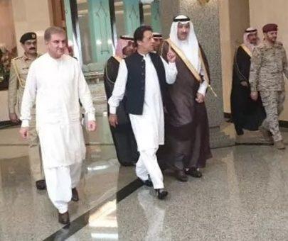 وزیراعظم عمران خان کی ننگے پاؤں روضہ رسولﷺ پر حاضری