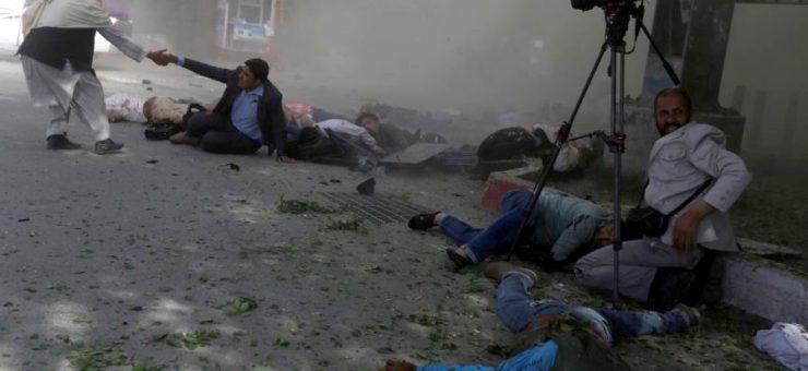 کابل میں 2 خودکش دھماکوں میں 20 افراد جاں بحق، درجنوں زخمی