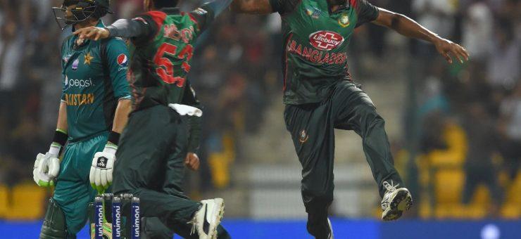 ایشیا کپ: پاکستان کا ذلتوں بھرا سفر تمام، بنگلہ دیش نے فائنل میں جگہ بنا لی