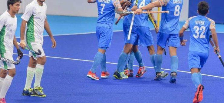 ایشین گیمز: پاکستان ہاکی میں تمغے سے محروم، بھارت سے 1-2 سے شکست