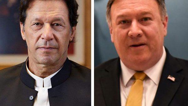 وزیراعظم عمران خان اور امریکی وزیرخارجہ مائیک پومپیو کی ملاقات، آرمی چیف کی بھی شرکت