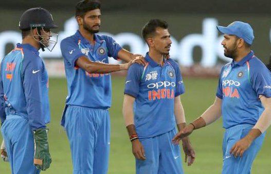 بھارت کے خلاف بیٹنگ لائن ناکام، پاکستان کی پوری ٹیم 162پر آوٴٹ