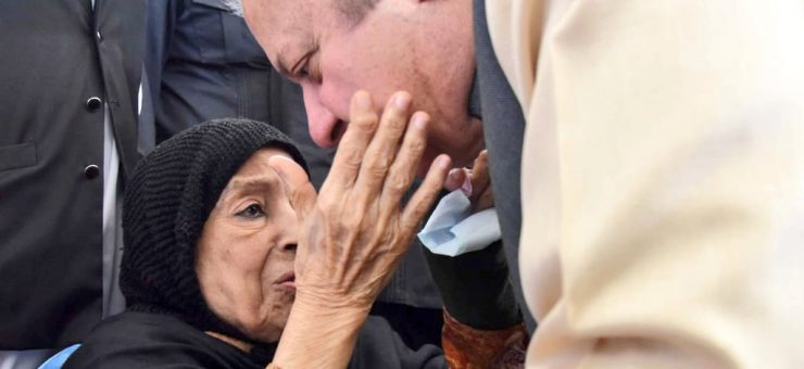 والدہ کی دعاوٴں کے سائے نوازشریف کی واپس اڈیالہ جیل روانگی