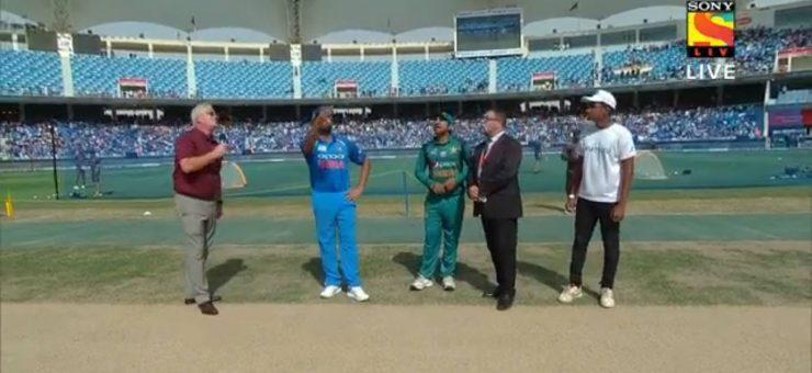 ایشیا کپ 2018: پاکستان کا بھارت کے خلاف ٹاس جیت کر بیٹنگ کا فیصلہ