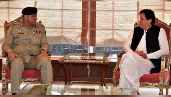 وزیر اعظم اور آرمی چیف کی ملاقات، ملک میں امن و امان یقینی بنانے پر اتفاق
