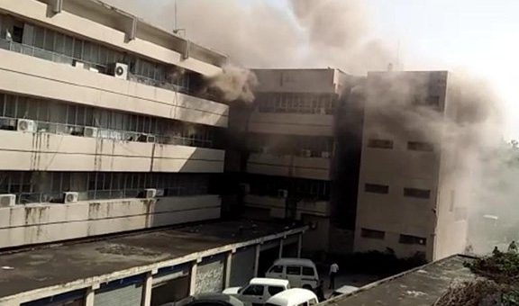 پریس انفارمیشن ڈیپارٹمنٹ اسلام آباد میں آگ بھڑک اٹھی، ملازمین عمارت میں پھنس گئے
