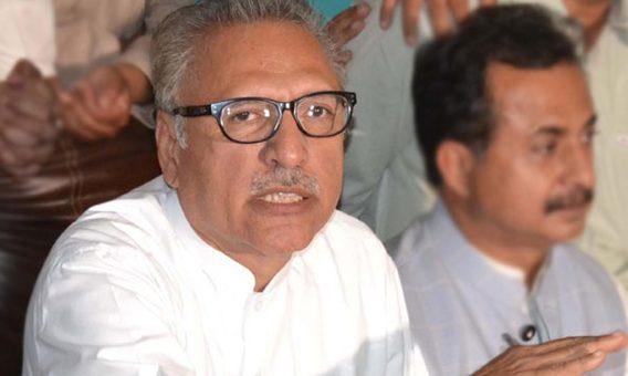 عارف علوی فارغ پاکستان کو نیا صدر مل گیا