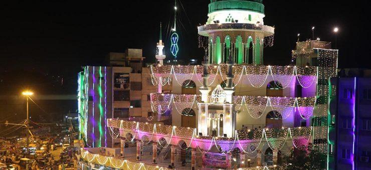 آمد مصفطیٰﷺ مرحبا مرحبا، ملک بھر جشنِ عید میلادالنبیﷺ عقیدت و احترام سے منایا جا رہا ہے