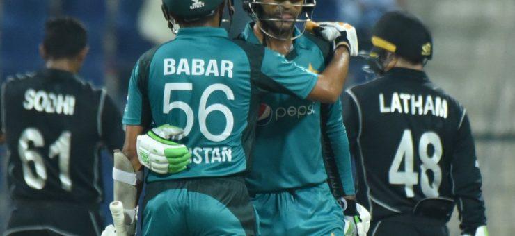 پاکستان نے 4 سال کے طویل عرصے بعد نیوزی لینڈ کو ون ڈے میں شکست دے دی