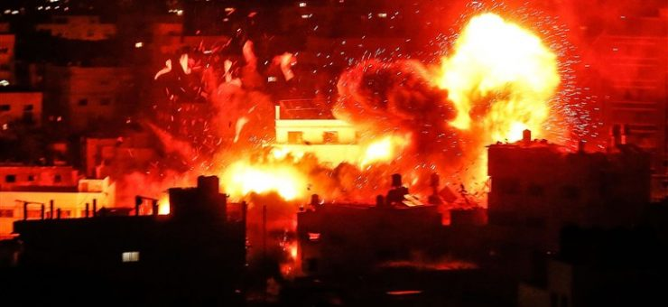 اسرائیل نے فلسطینیوں پر قیامت ڈھا دی، شدید بمباری سے کئی شہید