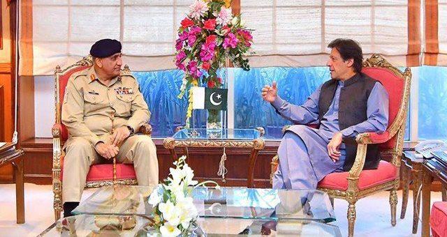 وزیراعظم عمران خان کی آرمی چیف جنرل قمر جاوید باجوہ سے ملاقات، ٹرمپ کے خط پر تبادلہ خیال