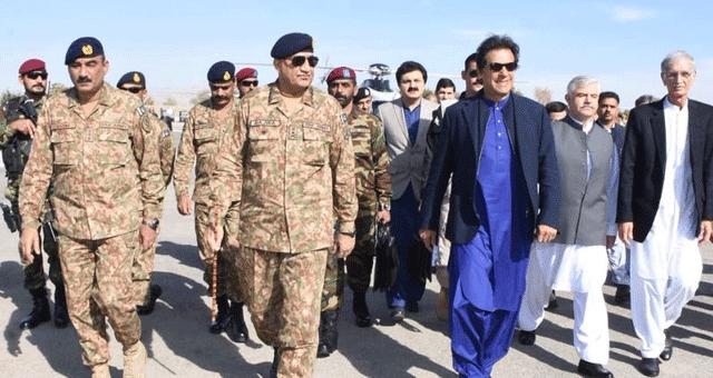 وزیراعظم عمران خان میران شاہ کا دورہ، آرمی چیف جنرل باجوہ بھی ہمراہ