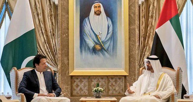 وزیراعظم عمران خان نے ابوظہبی کے ولی عہد شیخ محمد بن زید سے ون آن ون ملاقات
