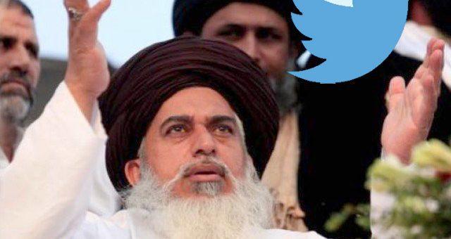 ٹوئٹر نے خادم حسین رضوی کا اکاؤنٹ معطل کردیا