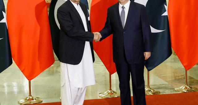 وزیراعظم عمران خان کی چینی صدر شی جن پنگ سے ملاقات