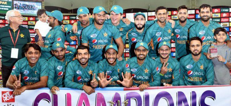 پاکستان نے نیوزی لینڈ کو بھی وائٹ واش کر دیا