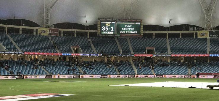پاکستان اور نیوزی لینڈ کا فائنل بارش کی نظر، سیریز 1-1 سے برابر
