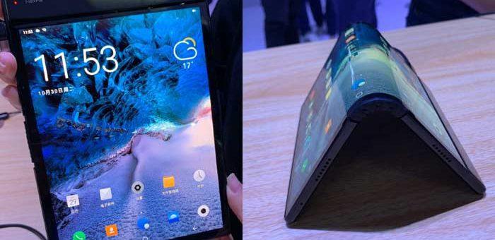 سام سنگ نہ ایپل، چائنہ کی کمپنی دنیا کا پہلا فولڈ ایبل موبائل مارکیٹ میں لے آئی