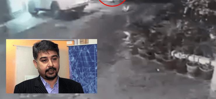 علی رضا عابدی پر ہونے والے قاتلانہ حملے کی سی سی ٹی وی فوٹیج منظر عام پر