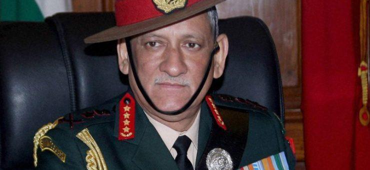 """پاکستان کے """"سیکیولر"""" ریاست بننے تک امن کی بات نہیں ہو سکتی، بھارتی آرمی چیف جنرل بپن روات کی بیوقوفانہ منطق"""