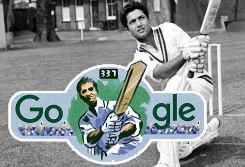 گوگل کا پاکستانی کرکٹر لٹل ماسٹر حنیف محمد کی سالگرہ پر انوکھا خراج تحسین