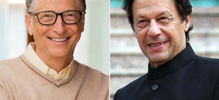 مائیکرو سافٹ کے بانی بل گیٹس کا وزیراعظم عمران خان کو ٹیلی فون، 30 منٹ تک گفتگو