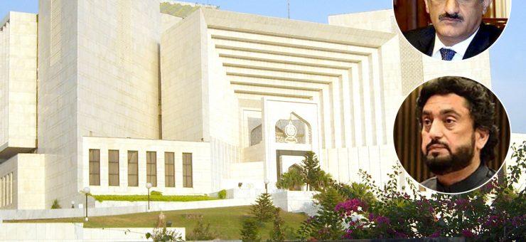 وزیراعلیٰ سندھ کا نام ای سی ایل میں ڈالنے پر سپریم کورٹ برہم، وزیرداخلہ شہریار آفریدی عدالت طلب