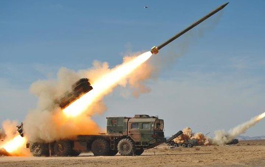 پاکستان نے تباہ کن اے 100 راکٹ اپنے دفاعی نظام میں شامل کر لیا