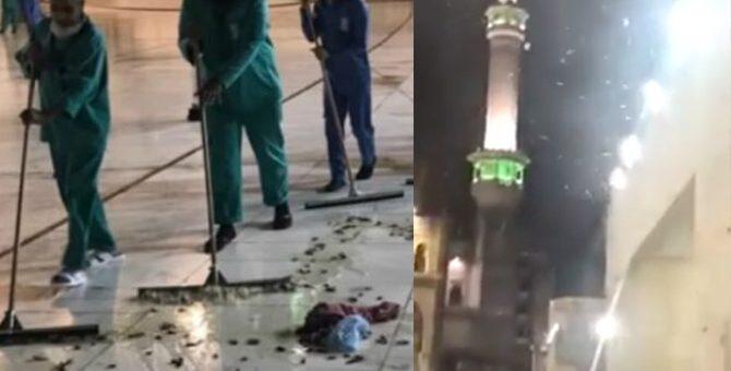 خانہ کعبہ میں لاکھوں اڑنے والے کاکروچ آگئے، نمازیوں کو دشواری، لوگوں نے اللہ کا عذاب قرار دے دیا