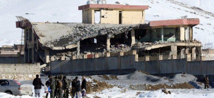 افغان خفیہ ایجنسی این ڈی ایس کی بیس پر خودکش حملے میں 126 اہلکار ہلاک