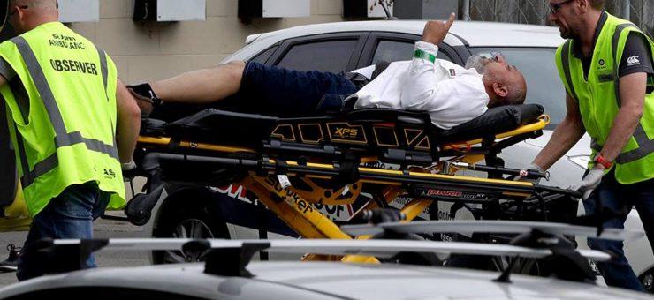 نیوزی لینڈ میں سفید فام دہشت گرد کا مسجد پر حملہ، 40 نمازی شہید، بنگلہ دیشی کرکٹ ٹیم بال بال بچ گئی