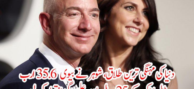 دنیا کی مہنگی ترین طلاق، شوہر نے بیوی 35.6 ارب ڈالر اداکر کے 25 سال بعد علیحدگی اختیار کر لی