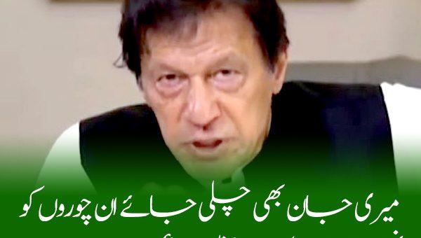 چاہے میری جان بھی چلی جائے ان چوروں کونہیں چھوڑوں گا: وزیراعظم عمران خان