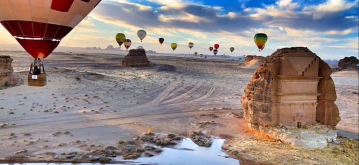 سعودی عرب میں طنطورہ وِنٹر فیسٹول شروع ہو گیا