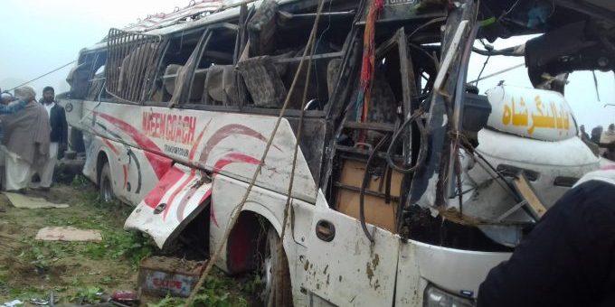 بہاولنگر، بس کو حادثہ،7 افراد جاں بحق، 13 زخمی