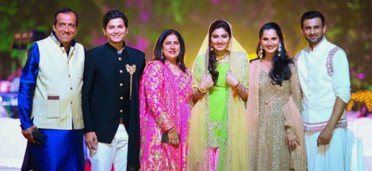 بھارتی کرکٹراظہرالدین اور پاکستانی کرکٹر شعیب ملک رشتہ دار بن گئے