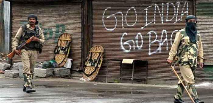 انسانی حقوق کے عالمی دن پر کشمیر میں یوم سیاہ، بھارت کشمیر سے نکلو کے نعرے