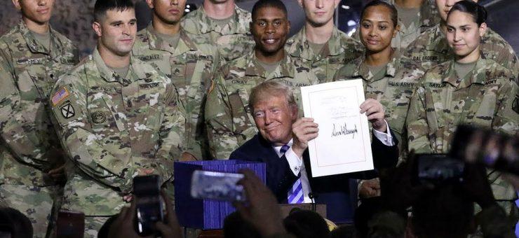 """امریکی مسلح افواج میں نئی"""" خلائی قوت"""" متعارف"""