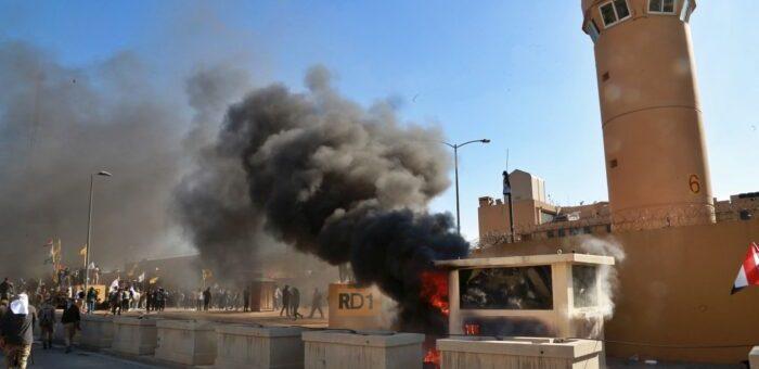 بغداد میں ایک اور امریکی فضائی حملہ، چھ افراد جاں بحق
