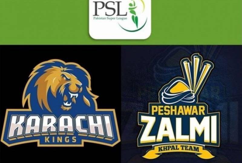 پشاور زلمی کا کراچی کنگز کیخلاف ٹاس جیت کر بیٹنگ کا فیصلہ