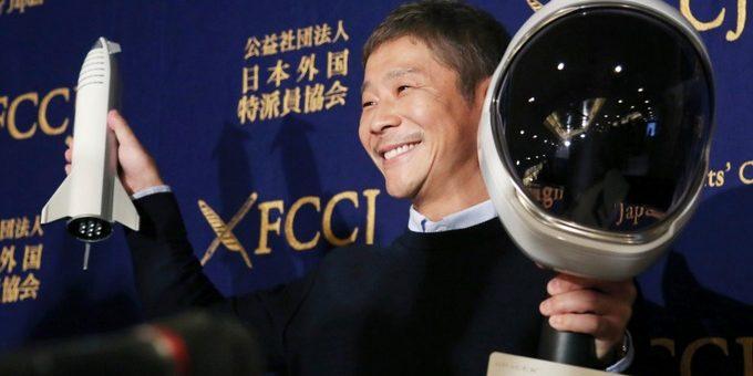 چاند پر لے جانے کے لیے محبوبہ کی تلاش کرتا جاپانی ارب پتی