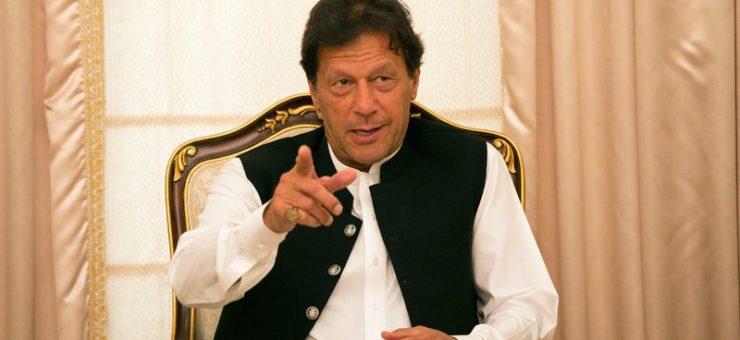فوج میرے ساتھ ہے کیونکہ میں کرپٹ نہیں، عمران خان